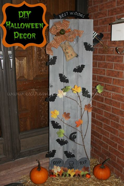 diy halloween home decor diy frugal fun halloween decor tutorial extreme