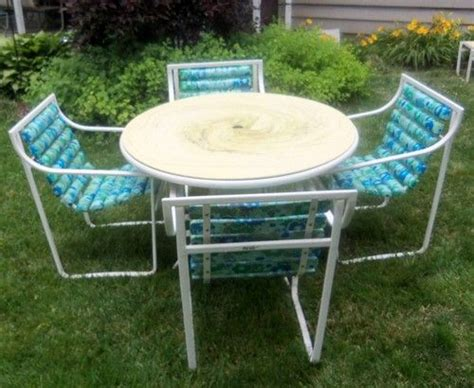 cushion pads retro table and swirl pattern on pinterest