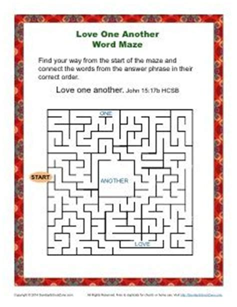 s day quiz courageous christian one another word maze bible maze activities