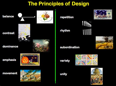 design definition of movement visual arts elements of art and principles of design