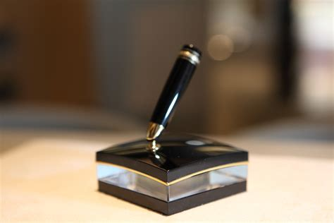 desk pen stand desk sets montblanc the fountain pen network