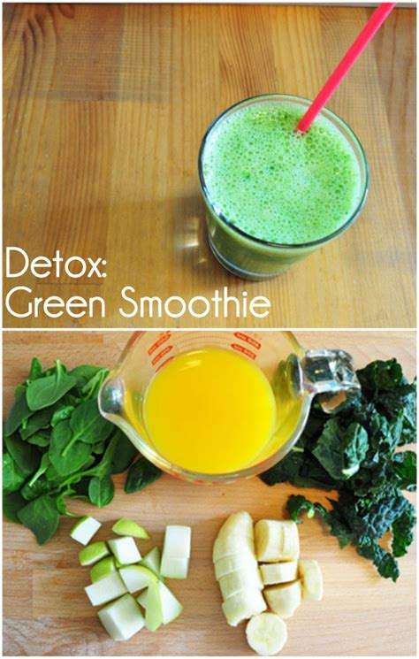 Green Fruit Smoothie Detox by Detoxing Green Smoothie Cleanse Your Juicer And