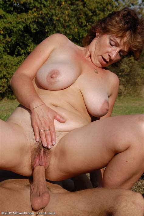 Busty Milf Her Mature Pussy Plugged Outdoors All Over Free Gorgeous Older Women Pictures