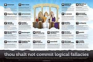 thou shalt not commit logical fallacies data tech policy