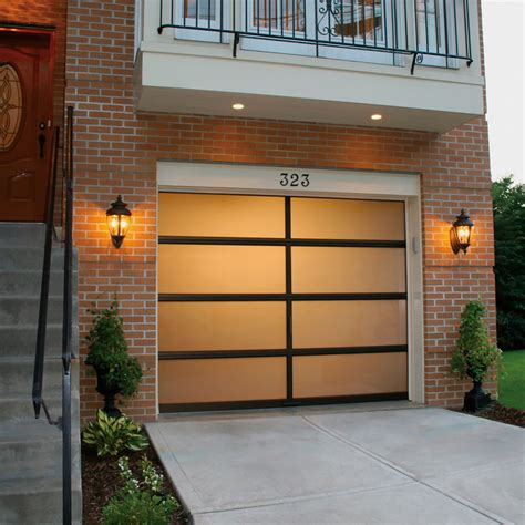 Full View Aluminum Garage Doors Garage Living View Garage Door