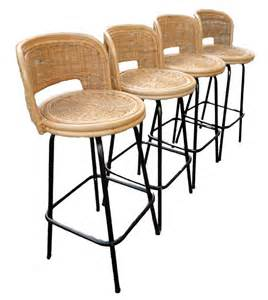 swivel wicker bar stools vintage mid century bar stools eames rattan swivel bamboo