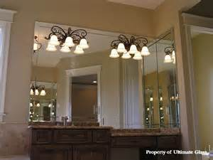 bathroom mirror edging ultimate glass mirror inc specializing in custom glass