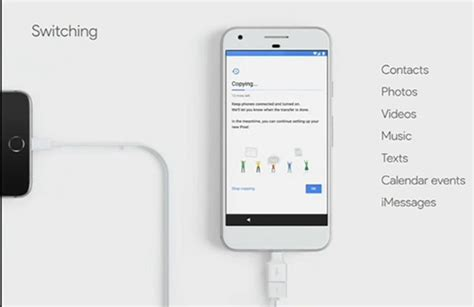 switch from android to iphone transfer data to pixel xl from other phone iphone android windows phone nokia blackberry