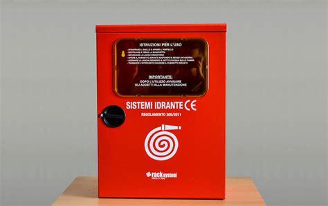 cassette antincendio uni 45 vendita casette con idranti manichette lance 2