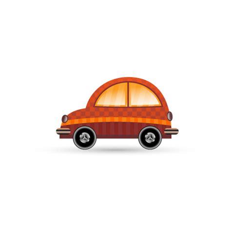 可爱卡通小汽车图标