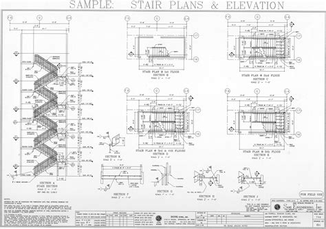 stair plan stair plans sle drawing of stairs plans elevation