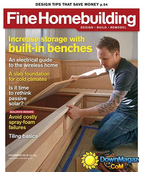 fine homebuilding magazine fine homebuilding november 2016 187 download pdf magazines
