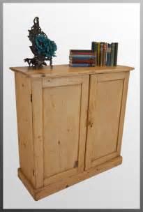 ictorian pine cabinet bookcase door cupboard
