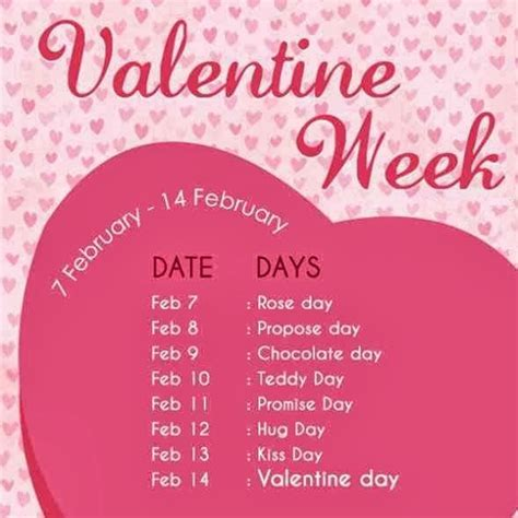 day 1 feb to 14 feb week list 2017 here s complete list of