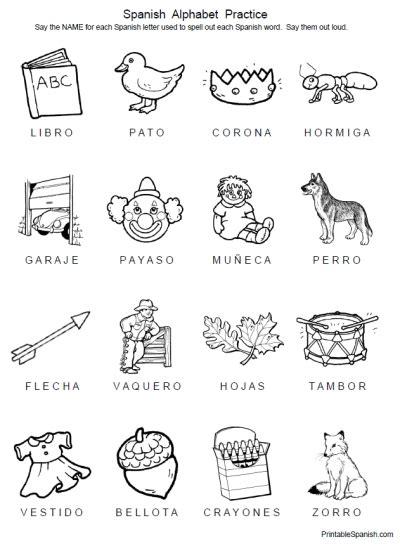 free printable handwriting worksheets in spanish spanish alphabet practice printable spanish