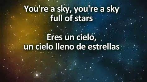 coldplay a sky full of stars lyrics coldplay a sky full of stars un cielo lleno de