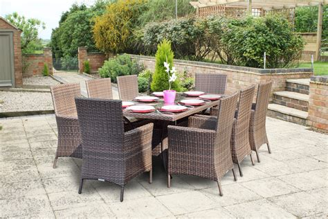 wovenhill are proud to supply itn news with rattan garden