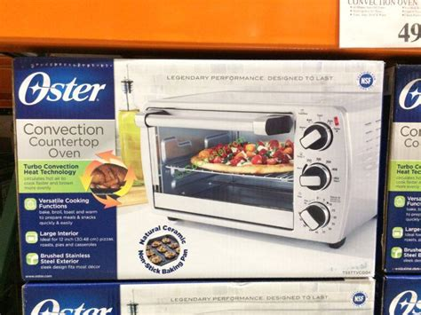 Oster Convection Countertop Oven Costco by Oster 6 Slice Convection Countertop Oven Model
