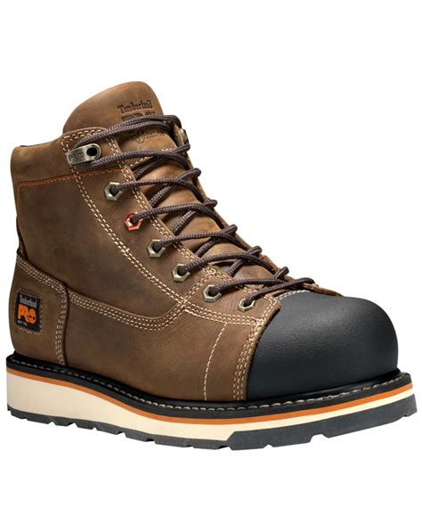 soft toe work boots for timberland pro 174 s gridworks 6 quot soft toe work boots