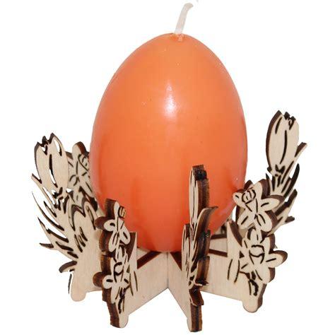 kerzenhalter orange kerzenhalter motiv fr 252 hbl 252 inkl eierkerze orange
