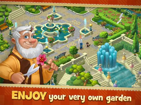 Gardenscapes Friends Gardenscapes New Acres On The App Store