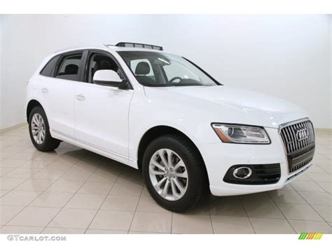 White Audi Q5 by 2015 Glacier White Metallic Audi Q5 2 0 Tfsi Premium Plus