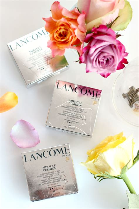 Lancome Miracle Cushion lanc 244 me miracle cushion foundation review beautylab nl