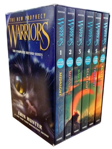 series the complete collection books warriors the new prophecy collection erin 6 books