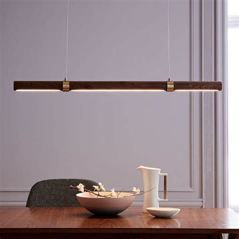 visual comfort studio sandy chapman  light brass linear