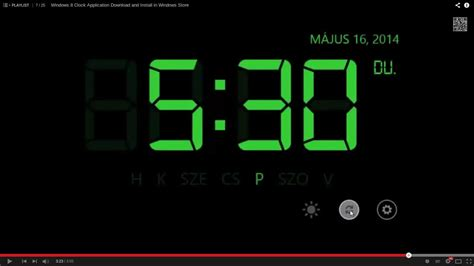 digital desk clock 14 04 how do you get a digital clock on the ubuntu