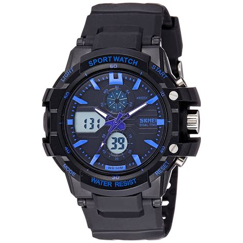 Jam Tangan skmei jam tangan sport anak 0990l blue jakartanotebook