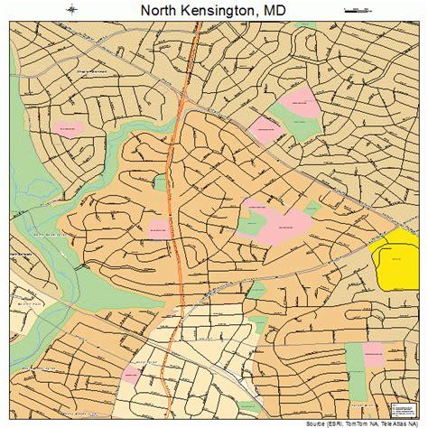 kensington md kensington maryland map 2456712