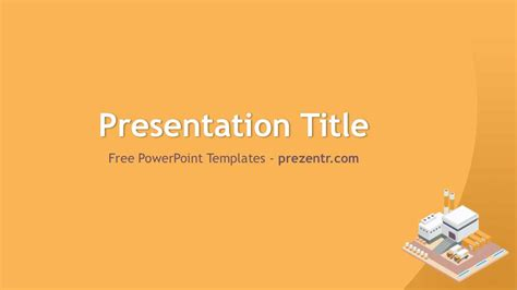 free factory powerpoint template prezentr ppt templates
