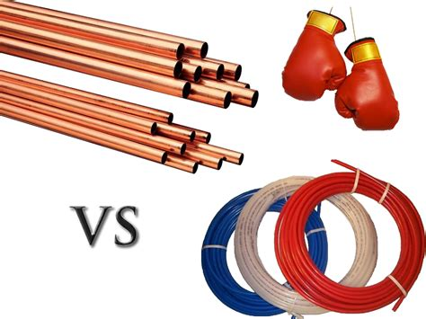 copper vs pex plumbing info
