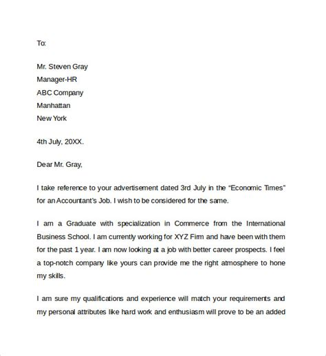 accounting position cover letter accounting resume cover letter sle accountingjobstoday