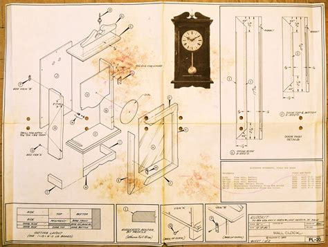 wall clock plans woodworking clockit wall clock pl 20 airplanes and rockets