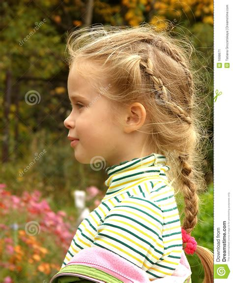 child s the child s profile stock image image 1698671