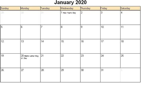 january  printable calendar blank templates calendar letters