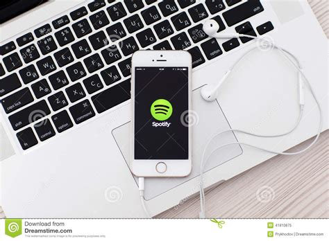 white iphone   site spotify   screen