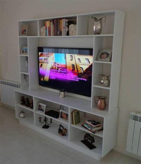 Mueble Colonial by Foto Mueble Laqueado Para Tv Estantes A Medida De La