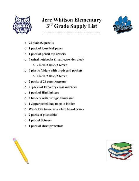 putnam county   school supply list upper cumberland reporter