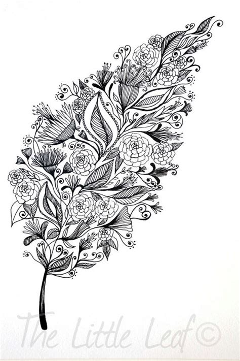 leaves pattern drawing leaf art leaves and art drawings on pinterest