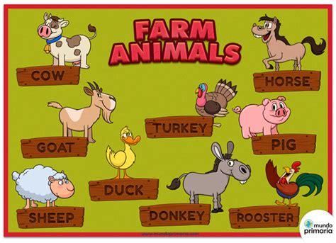 imagenes animales ingles imagenes de animales de granja en ingles images