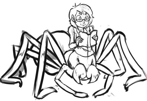 spider girl coloring page cute spider pinterest
