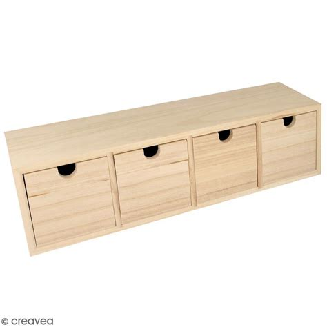 boite a tiroir en bois boite de rangement bois ikearaf