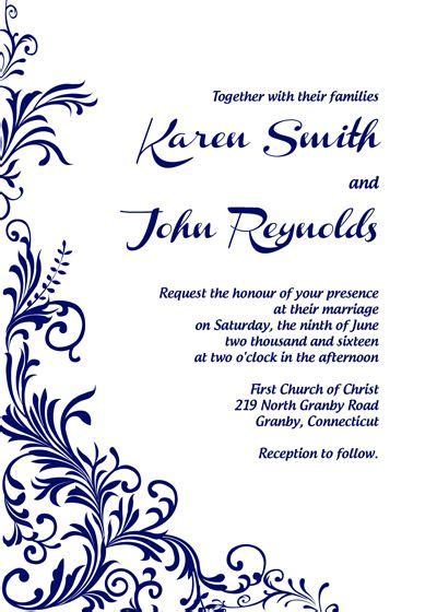 free layout for invitation 201 best images about wedding invitation templates free