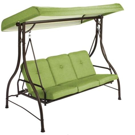 patio swing chair with canopy 3 seat swing with canopy