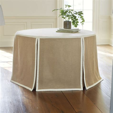 kitchen table cloth paneled tablecloth burlap 108 quot transitional tablecloths by ballard designs