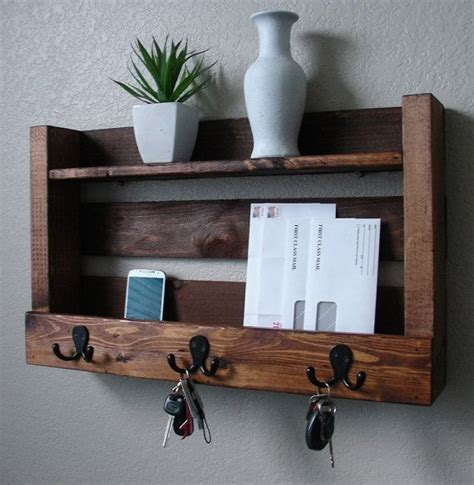 Entryway Wall Shelf With Hooks by 17 Best Ideas About Coat Rack With Shelf On