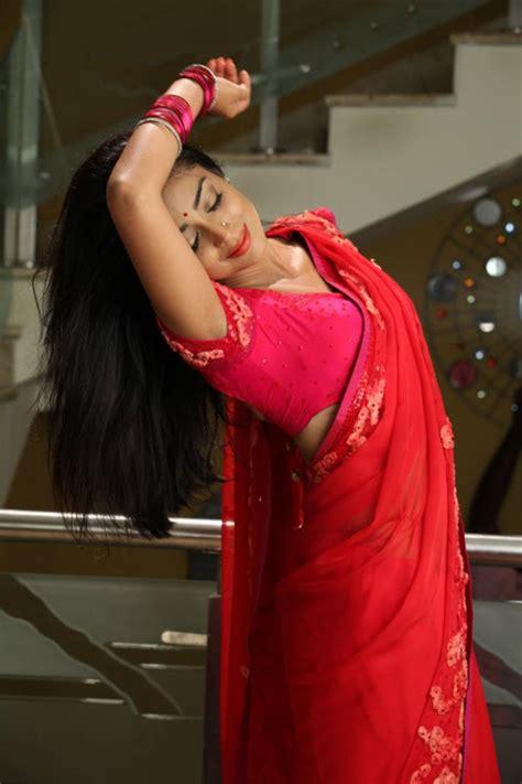 shriya saran  red hot saree stills south indian actress